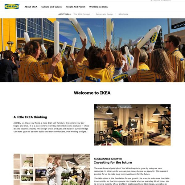 Our Work – Ikea